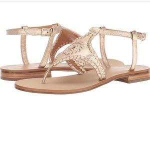Jack Roger Maci Gold Sandals